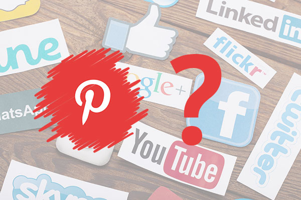 How is Pinterest like other social media for user purposes
